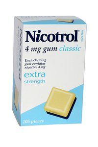 Nicotrol **4mg** x 6 packs